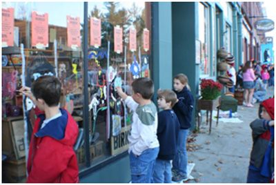 1st Window Painting Contest