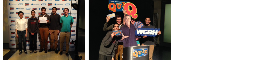 Belmont High School Students Win Spot on WGBH's High School Quiz Show