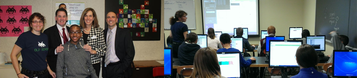 "Belmont High School Students Spin off ""Hour of Code"" Week with a New Take on Apps"