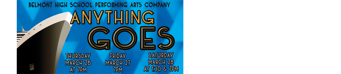 BHS Performing Arts Company Spring Musical