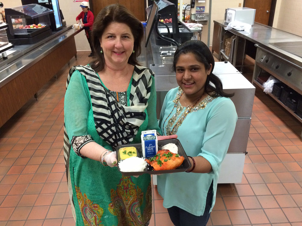 Eat Around the World! Gail Mulani and Binita Adhikari
