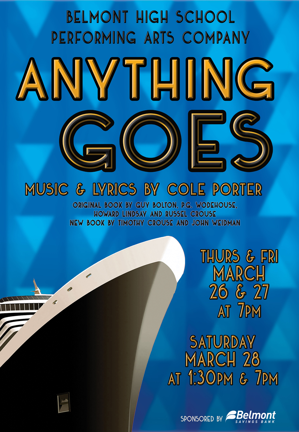 Spring Musical Anything Goes