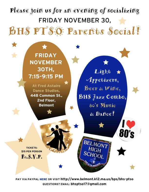 PTSO Parent's Social