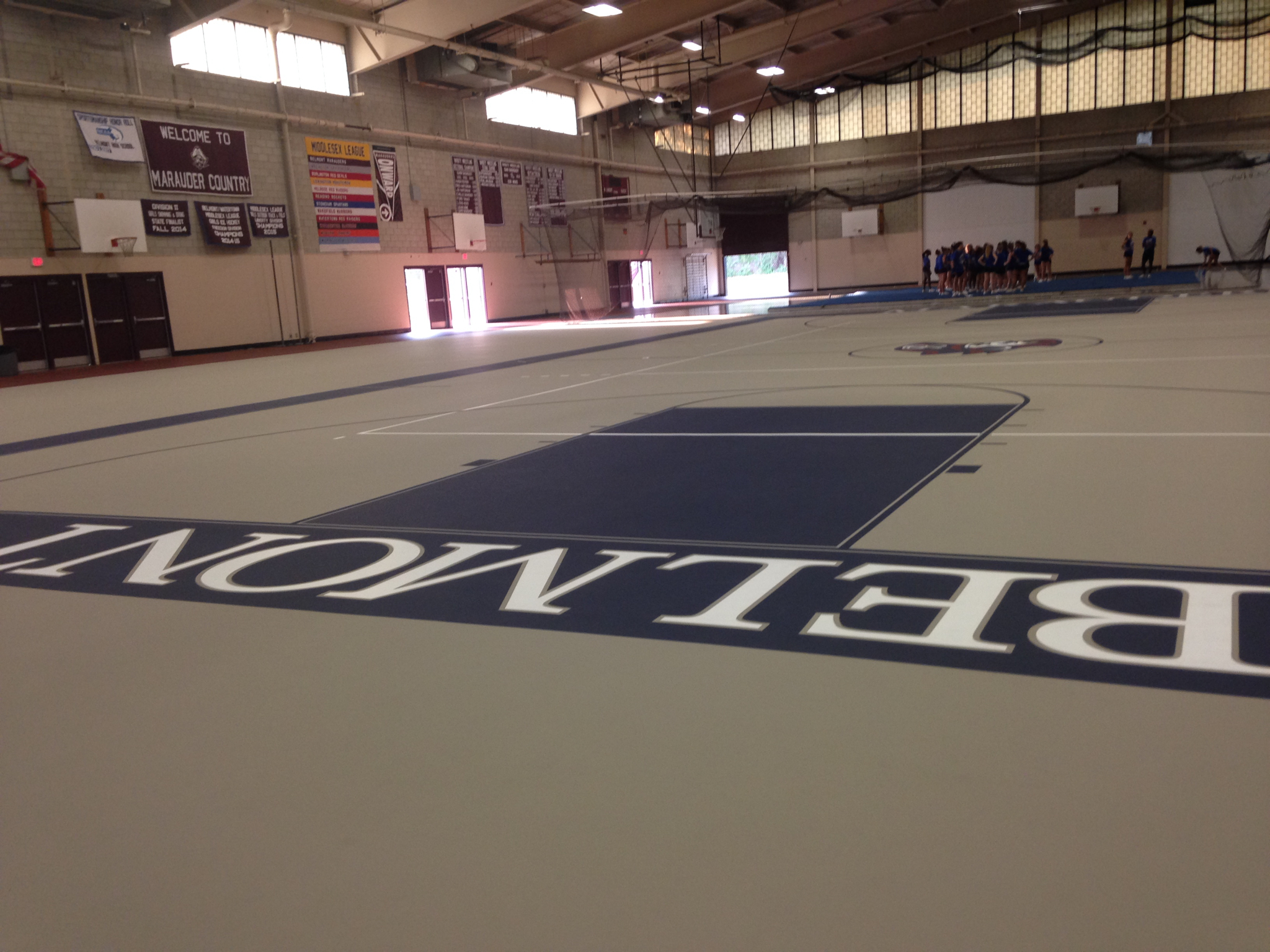 wenner field house flooring