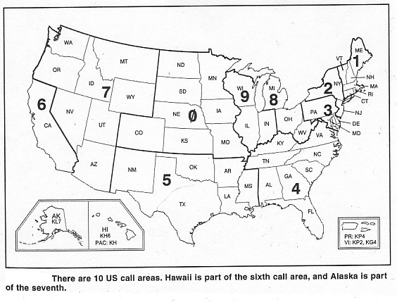 call areas amateur Us