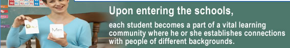Upon entering the Belmont Public Schools, each student becomes a part of a vital learning community where he or she establishes connections with people of different backgrounds