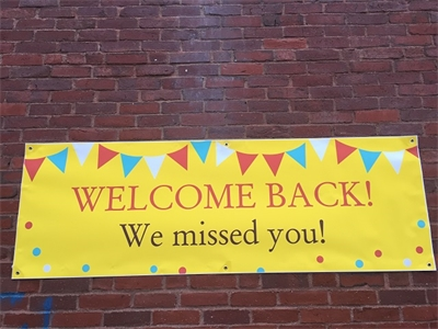Welcome Back We Missed you