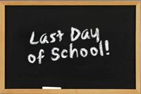 Last Day of School for the 2018 - 19 School Year