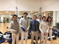 Belmont High School Fencing Team had a Great First Meet