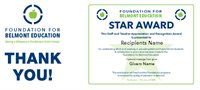 FBE Thank You with STAR Awards
