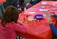 Valentines at Belmont Public Libary