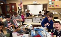 Butler Student Leader Corps organizing Winter Kits