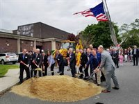 Belmont Middle and High School Groundbreaking