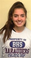 Katie Guden, BHS Field Hockey, Boosters Athlete of the Month October 2019