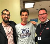 Stephen Carvalho,  BHS Cross Country, Boosters October 2019 Athlete of the Month