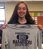December 2019 Booster Athlete of the Month Nina Minicozzi, BHS Girls Basketball