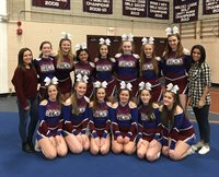 BHS Cheerleading Win Middlesex League Championship Advance to Regional & State Competition