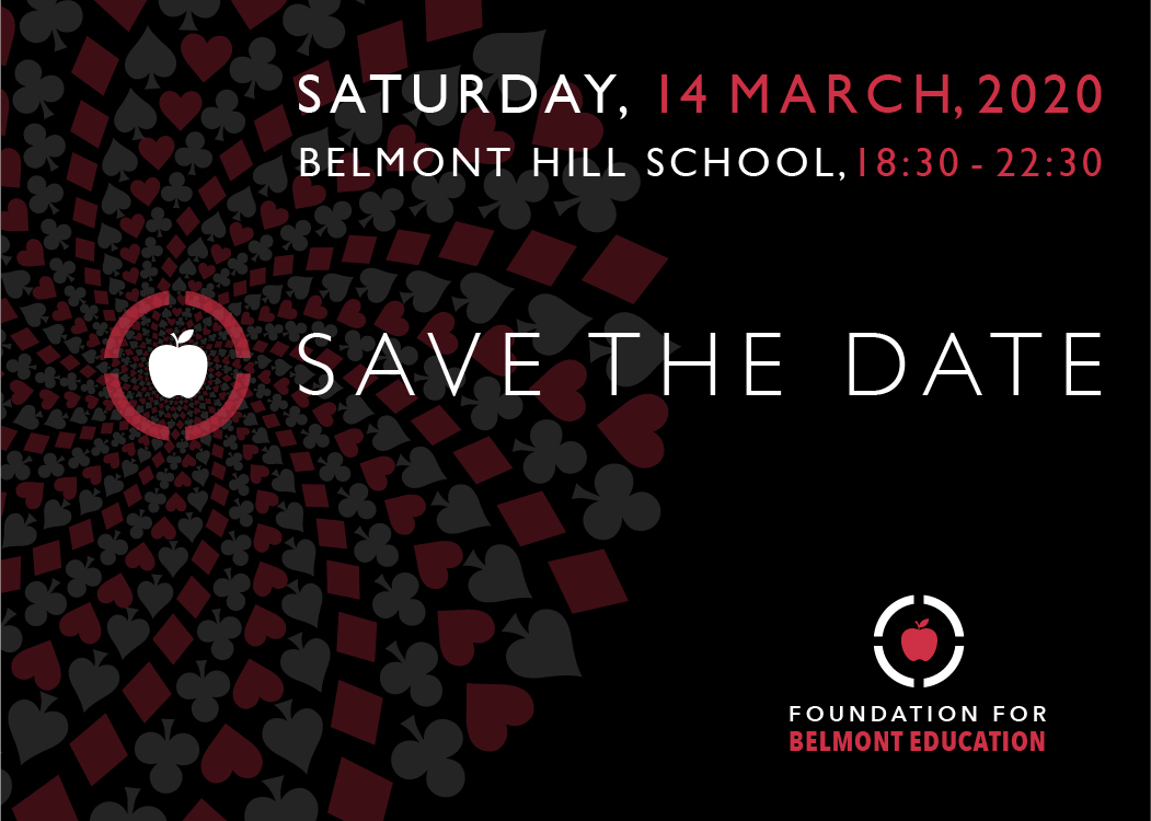 Foundation for Belmont Education  Annual Fundraiser on Saturday, March 14, 2020