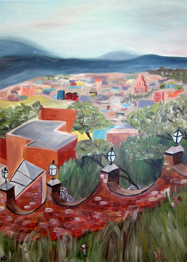 Abby Shuster, San Miguel (Acrylic)