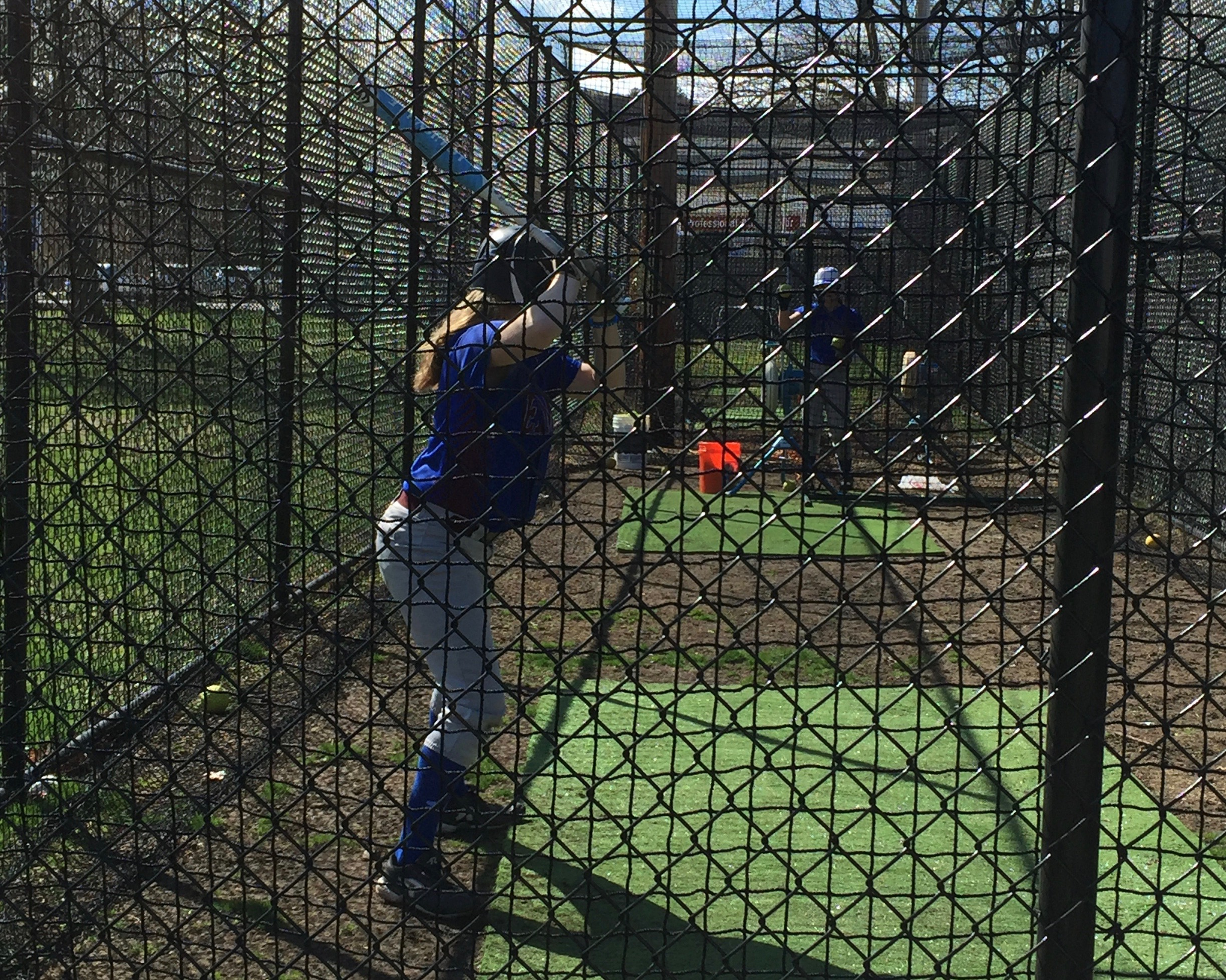 2015 softball batting cage