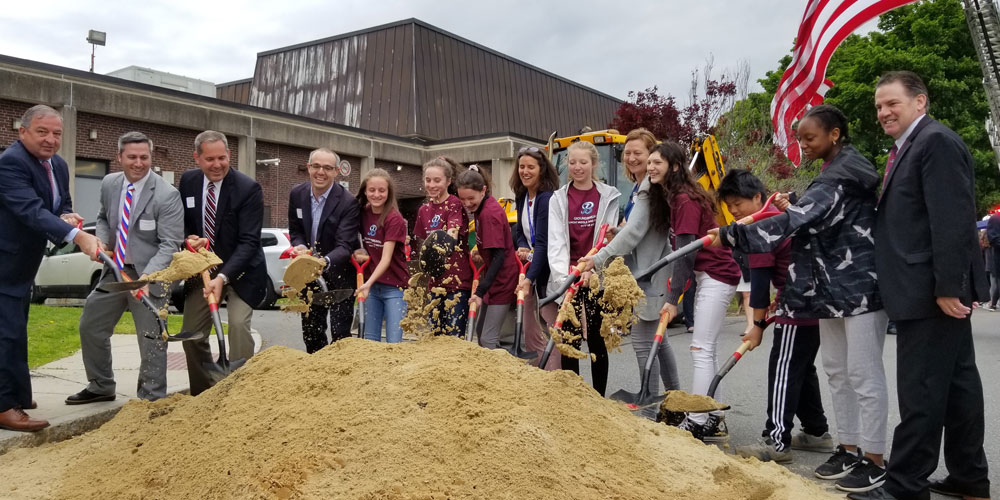Ground Breaking Ceremony for new Middle and High school
