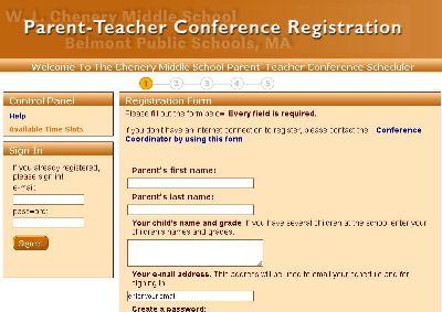 REMINDER: Parent-Teacher Conferences, Fall 2019 Session
