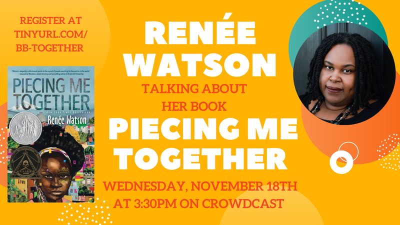 Renee Watson Talking About Her Book Piecing Me Together