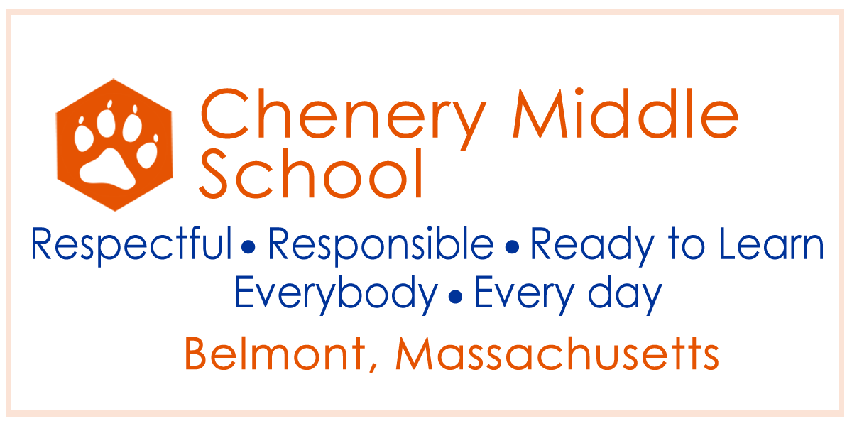 Message from Chenery Middle School Equity Team