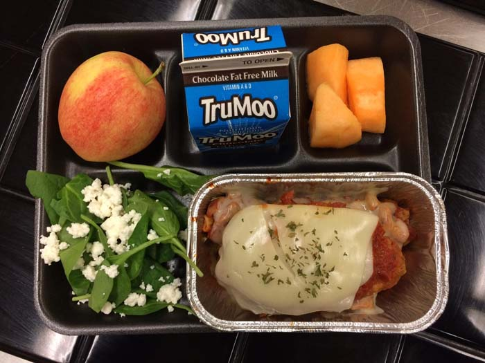 What will meals look like  for my Chenery student?