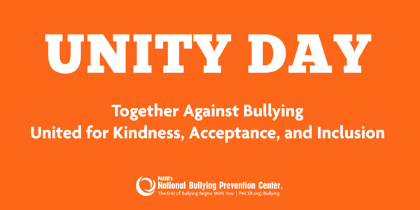 Anti-Bullying Day - Wear Orange on September 22