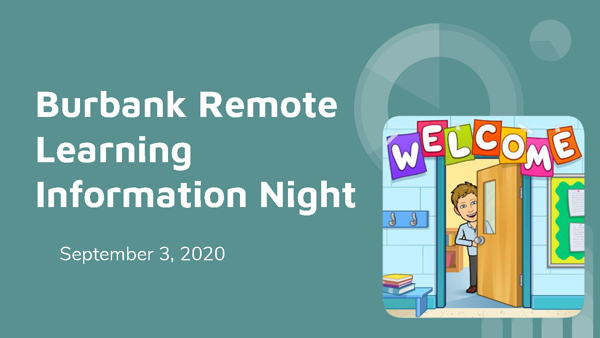 Remote Learning Information Night Recording and Presentation
