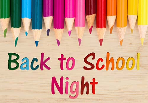 Burbank Back to School & Curriculum Night 2021